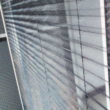 Aluminum Insect Screen Window Pleated Window