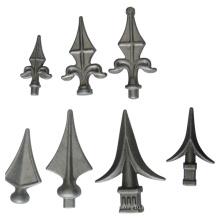 Pointe en alliage d'aluminium personnalisée avec forgeage