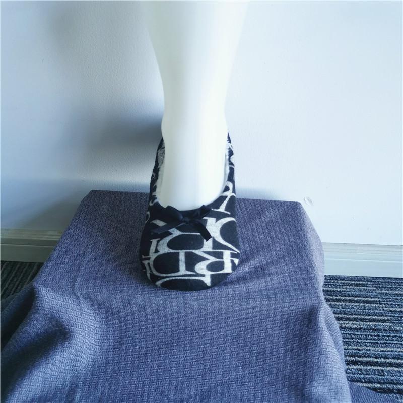 Printed Flooring Slippers Socks