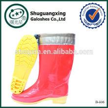 Дешевые ботинки женщин дождь сапоги мода