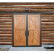 Porta corrediça dupla X-Brace Barn