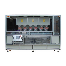 Servo Motor Automatic Six Color Panel Pad Printing Machine