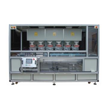 Servo Motor Automatic Six Color Panel Pad Printing Machine