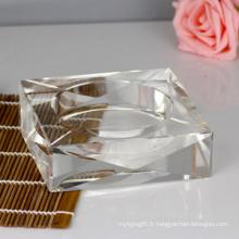 Nouveau cendrier en cristal de mode pour la décoration de maison et de bureau (JD-CA-601)