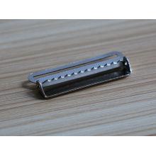 Piezas de hebilla de cinturón de color níquel color con hebillas de fábrica para cinturones