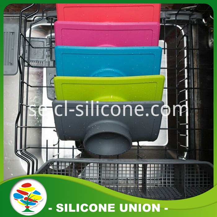 Multicolor silicone baby placemat