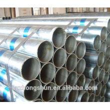 Горячая оцинкованная стальная трубка 48,3 мм x sch40