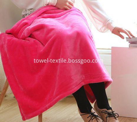 Coral Fleece Blanket Throw