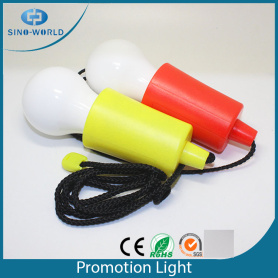Nuevo diseño Hanging Anywhere Pull Light Promotion Light