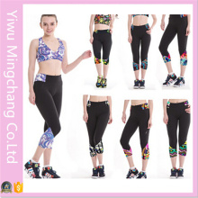 2016 Latest Style European and American Printing Cropped Sport Pants
