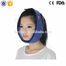 Reusable cold/hot therapy system face wrap