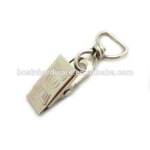 Alta qualidade de Metal Metal Swivel Clip Badge