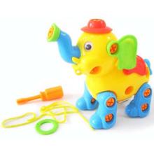 Crianças de educação elefante de plástico dos desenhos animados brinquedo brinquedo diy com en71 (10222098)