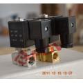 Small size 100bar gas 12v dc high pressure solenoid valve