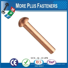 Made In Taiwan Not China Steel Rivet Copper Rivet Round Head Rivet