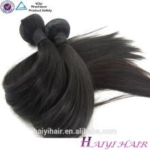 """Meninas longas """"sexy"""" indianas superiores do cabelo do cabelo indiano humano reto superior do cabelo da categoria 8A 100%"""