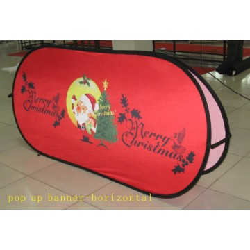 Iklan Horisontal Pop Out Banner Printing