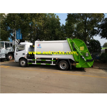 5000 Liters DFAC Compressed Rubbish Vehicles