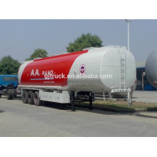 3 axle aluminium alloy fuel trailer with 46000 L capacity with 4 compartments