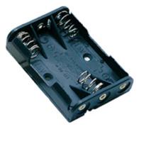Pasadores de PCB de soporte de batería AAA x 3