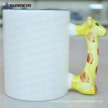 Sublimación Animal en blanco taza ciervo