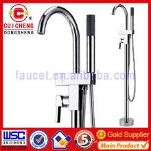 Fashion design floor type bathtub/shower faucet mixer for outdoor