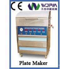 Placa de la simple impresión que hace la máquina (WJ-200)