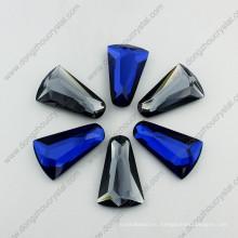 Diseño de joyas de flores por Flat Back Glass Stone (DZ-1797)