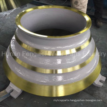 OEM Servise Wear Resistant Cone Crusher Parts with Reasonable Price