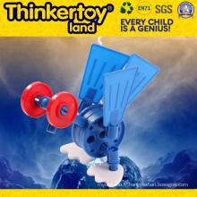 Jouets intellectuels et éducatifs en plastique pour enfants