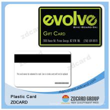Cartão chave personalizado de sala de hotel