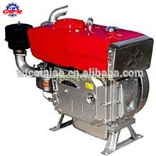 motor diesel zs1115 del motor de un solo cilindro refrigerado por agua