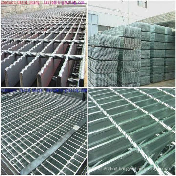Galvanized Floor Steel Grating with Ningbo Lihong SGS Approval