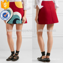 New Fashion Red A-line Summer Mini Daily Skirt DEM/DOM Manufacture Wholesale Fashion Women Apparel (TA5006S)