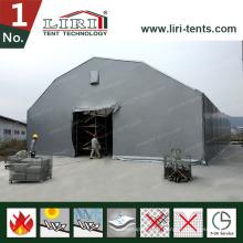 Tentes de Hall de Rubb pour la tente 500 - 3000sqm d'entrepôt de stockage en acier avec les panneaux en aluminium