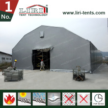 Rubb Hall Tents for Steel Storage Warehouse Tent 500 - 3000sqm with Aluminum Panels
