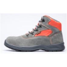 Ufb027 Zapatos de seguridad con punta de acero en piel de ante con estilo