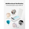 Caixa esterilizadora portátil de luz ultravioleta