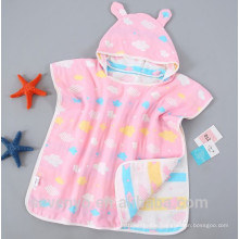 100% luxury organic cotton baby towel with hood extra soft super cute baby bath towel animal hooded towel