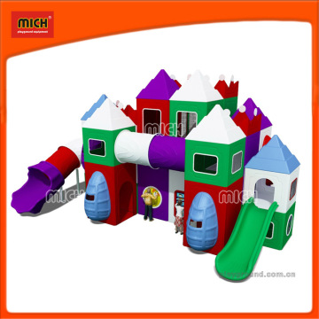 Small Children Indoor Plastic Playground Equipment