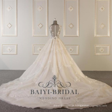 Alibaba vestido de noiva cinza vestidos de noiva 2018 WT310
