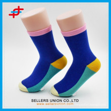 Custom cotton wholesale colorful mens socks/Candy colored school socks