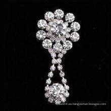 Broche de diamantes de imitación