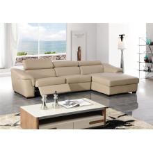 Sofá moderno reclinable del cuero del ocio