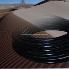 Spezieller Kunststoff-Stahlgeflecht-Verbundschlauch