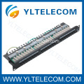 1U 19 pollici 24port(3*8) Patch Panel ad angolo retto cat. 5e e Cat. 6 tipo