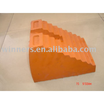 Molded Rubber Wheel Chocks