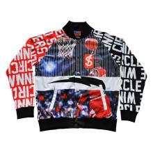 Sportbekleidung Jacke Basketballjacke Fußballjacke Baseballjacke (JK001)