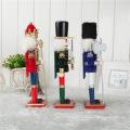 FQ marque géant en plein air noël casse-noisette boutique de décoration en plein air géant en bois casse-noisette ornements