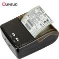 Черный портативный мини-принтер Bluetooth для смартфона